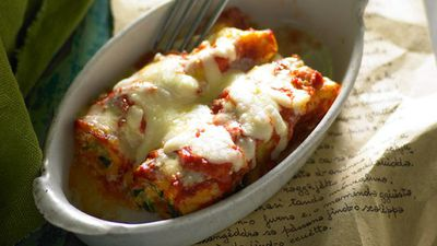 "<a href=""http://kitchen.nine.com.au/2016/05/17/11/39/pasta-fantastico-ricotta-and-kumara-cannelloni"" target=""_top"">Ricotta and kumara cannelloni<br> </a>"