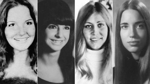 Just some of Ted Bundy's victims: Melissa Smith, Janice Ott, Denise Naslund and Roberta 'Kathy' Parks.