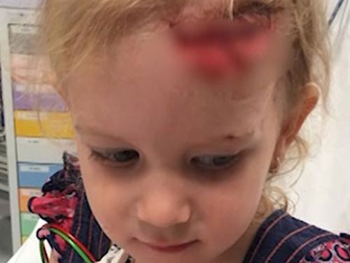 Despite her deep cut, doctors at Palmerston Regional hospital wouldn't treat Alice-Ann.