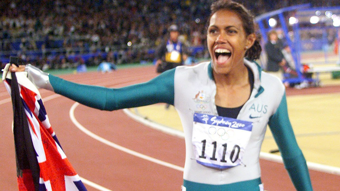 Olympic hero Cathy Freeman inspires Test hopeful Marcus Harris