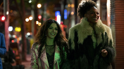 Sarah Shahi plays Billie Connelly in 'Sex/Life'.