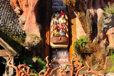 Disney's Splash Mountain ride