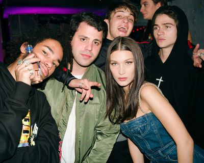 """<p><a href=""""https://www.instagram.com/bellahadid/?hl=en"""" target=""""_blank"""">Bella Hadid</a> partied with brother Anwar and a swag of New York's cool kids at the launch of <a href=""""http://www.myer.com.au/shop/mystore/dior-dior-poison-girl-edp"""" target=""""_blank"""">Dior's newest scent Poison Girl</a>.</p> <p>The party took place at the super hip Up&amp;Down which was dubbed Dior's Poison Club for the event.</p> <p>The fragrance, which Dior says is perfect for the confident young thing, is a distinctly elegant floral with a surprisingly satisfying bittersweet kick.</p> <p>Whether they liked it or not remains to be seen - but the it kids of the moment were clearly in the party mood. Click through to see more party people kicking it.&nbsp;</p>"""