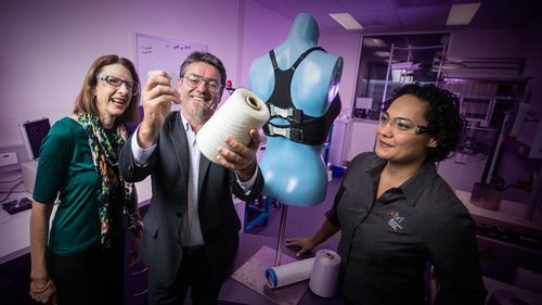 Aussie prototype 'bionic bra' detects breast movements and adjusts support