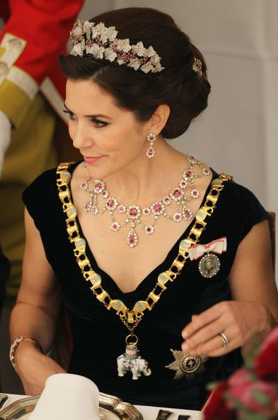 Princess Mary in 2012
