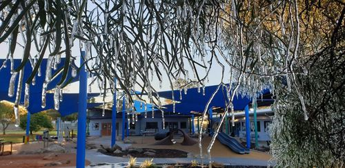 Large parts of the Top End saw their coldest morning in over eight years as the winter chill expands across the country.