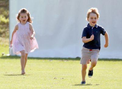 Princess Charlotte and Prince George, 2019