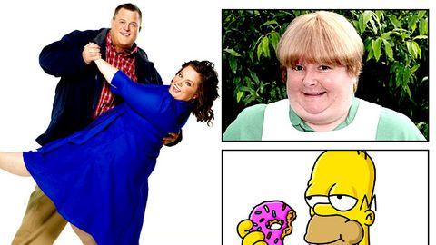 Slideshow: TV's favourite fatties