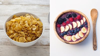 <strong>A bowl of cornflakes or an acai bowl?</strong>