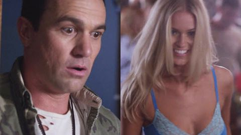 Miss Universe Australia Renae Ayris strips for Shannon Noll's new video