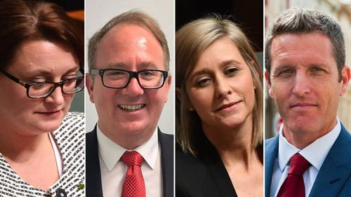 Labor Member for Braddon Justine Keay, Batman MP David Feeney, Labor Member for Longman Susan Lamb and Fremantle MP Josh Wilson could face High Court referral. (AAP/Facebook)