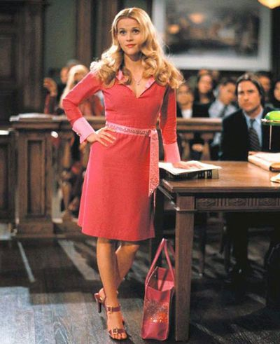 "<p><strong>1</strong>. Signature Colour - <em>Legally Blonde</em> 2001</p> <p>""We knew that she needed a signature color, and we were like, &lsquo;Do we really want it to be pink? It&rsquo;s so on the nose. It&rsquo;s so feminine. Could we do lavender? Could we do light blue?"" Legally Blonde's costume designer, Sophie de Rakoff told <em><a href=""http://ew.com/gallery/legally-blonde-fashion/#pink-pink-and-more-pink"" target=""_blank"" draggable=""false"">Entertainment Weekly.</a></em></p> <p>""Is there another color that we could do?&rsquo; When we met all the sorority girls, it had to be pink.""</p>"