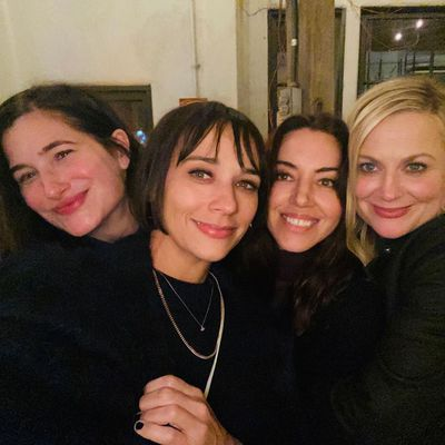 Aubrey Plaza, Amy Poehler, Rashida Jones and Kathryn Hahn