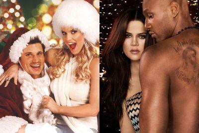 Case in point: Jessica Simpson and Nick Lachey in <i>Newlyweds</i> (divorce: 2005) and Khloe Kardashian and Lamar Odom in <i>Khloe and Lamar</i> (divorce: 2013).<br/><br/>Images: Splash/E!