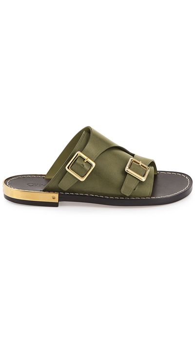 "<p><a href=""http://www.neimanmarcus.com/en-au/Chloe-Double-Monk-Slide-Sandal/prod168680164/p.prod"" target=""_blank"">Slides, $549.90, Chloé at neimanmarcus.com</a></p>"