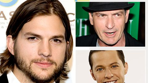 Charlie Sheen loves Ashton Kutcher, still reckons Two and a Half Men is doomed