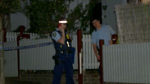 A neighbour was also threatened and robbed.