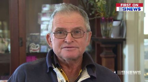 One caller threatened to fine Mr Lewis $5000. Picture: 9NEWS