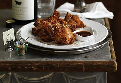 Crisp Southern fried chicken