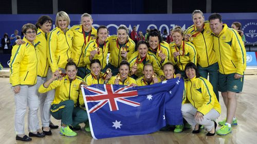Aussie girls break 12-year netball drought at Commonwealth Games