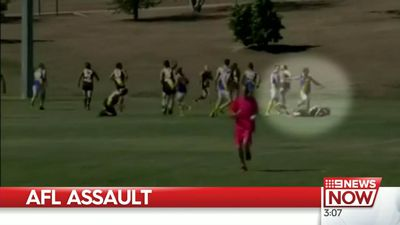 AFL player banned for life over head kick receives prison time