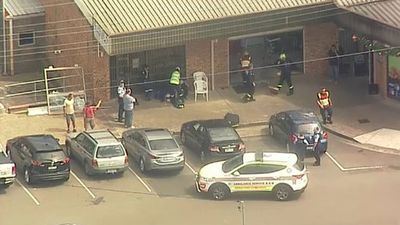 Car crashes into barber shop in Sydney's west