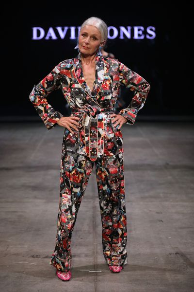 A model wearing Romance was Born at the David Jones Autumn Winter 2018 Collections show
