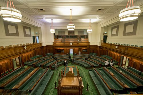 """""""The other great advantage of the old building was the chamber itself was smaller more intimate, therefore the exchanges during debates were different,"""" Mr Howard said."""