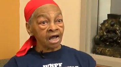 Home intruder beaten by elderly female bodybuilder