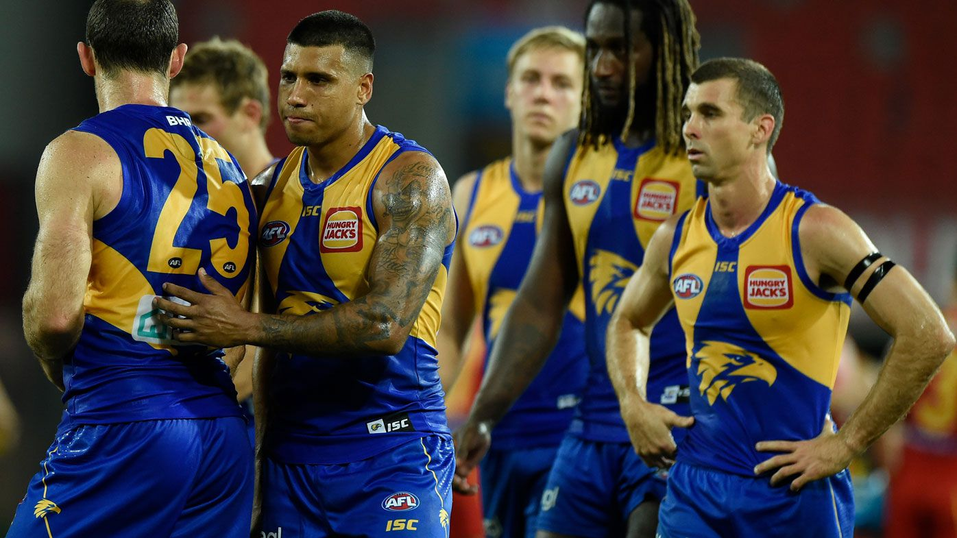 Shane McInnes: West Coast Eagles in serious strife and big names aren't delivering