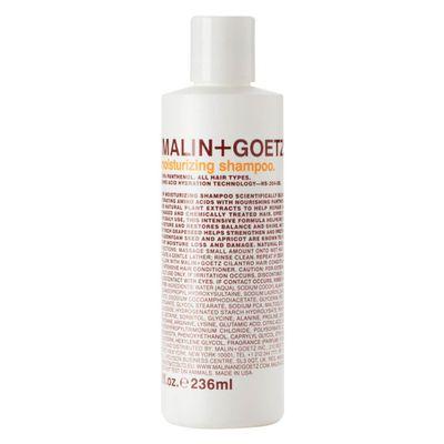 """<a href="""" https://www.mecca.com.au/malin-goetz/moisturising-shampoo/I-007250.html?cgpath=hair-shampoo#start=1"""" target=""""_blank"""">Malin + Goetz Moisturising Shampoo</a>, $41.00<br>"""