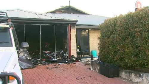 Family home destroyed by fire from computer equipment
