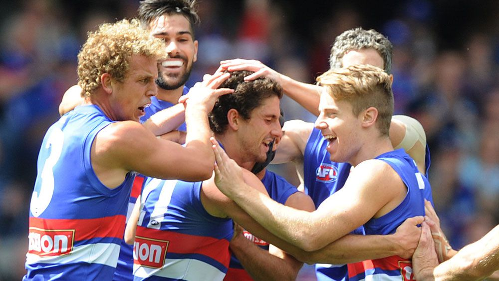 The Western Bulldogs smashed the Dockers. (AAP)