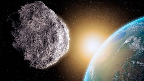 Once you can see the asteroid with the naked eye