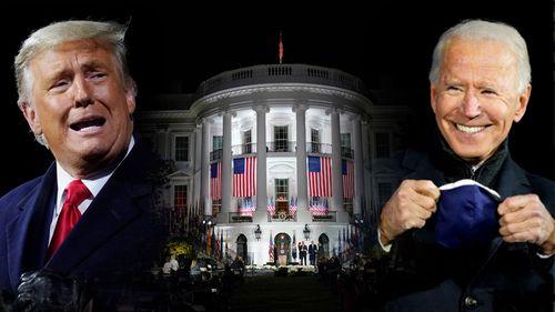 Biden Trump White House US election