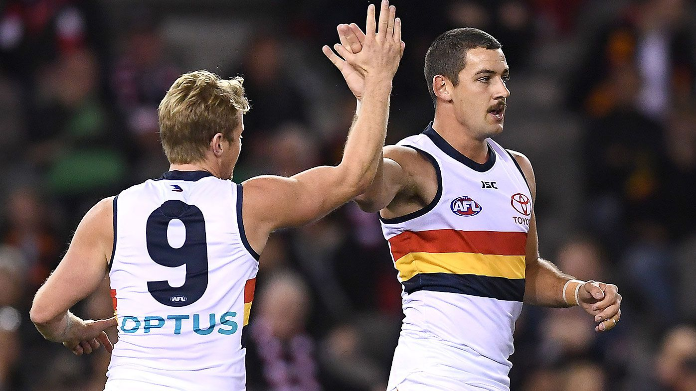 Matt Crouch and Brad Crouch unstoppable as Adelaide Crows continue resurgence