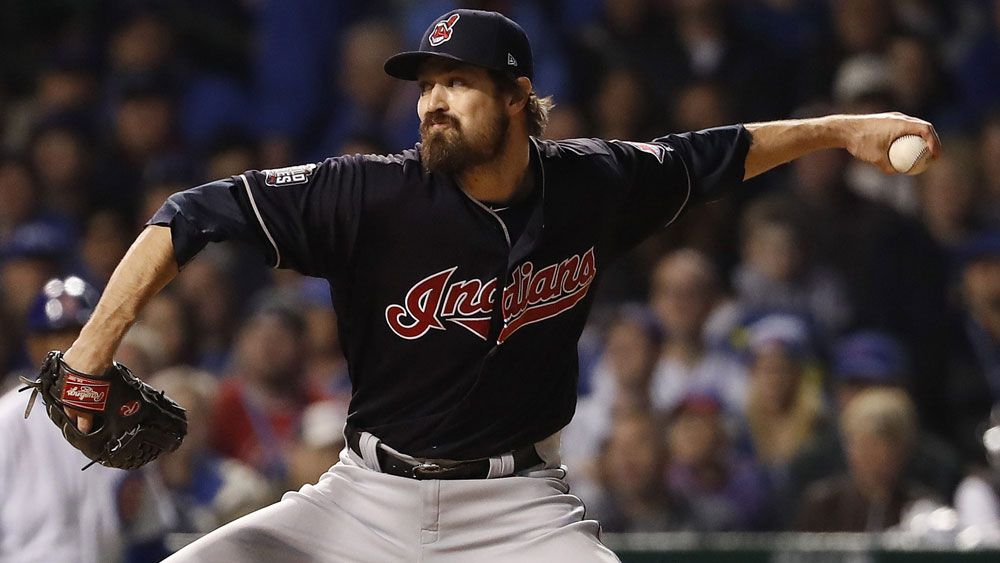 Indians go 2-1 up in World Series bttle with Cubs