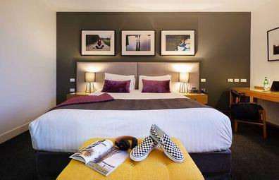 East Hotel bedroom