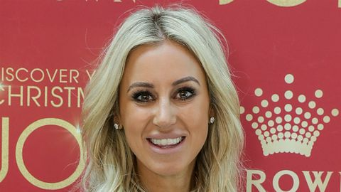 Roxy Jacenko is throwing herself into fitspirational life.