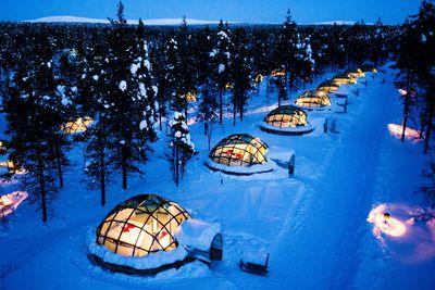 <strong>Kakslauttanen Hotel & Igloo Village, Finland</strong>