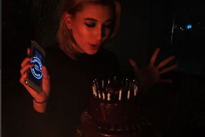 The model posted this snap on her Instagram, revealing it was her 18th birthday.