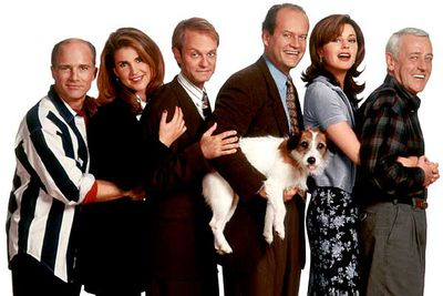 Martin Crane's (John Mahoney) dog <B>Eddie</B> became a fan favourite during the show's 11-year run.