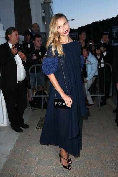 Natasha Poly at the Chanel and Vanity Fair party<br />