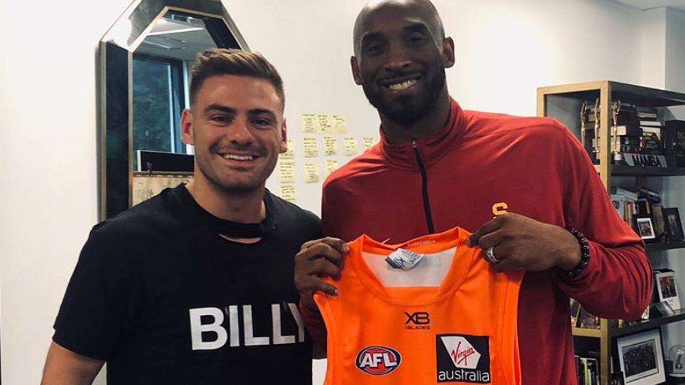 'I walked in and didn't know what to expect': Stephen Coniglio opens up on meeting Kobe Bryant