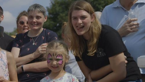 Families and fans of all ages come to the fields to support the races. Image: Supplied