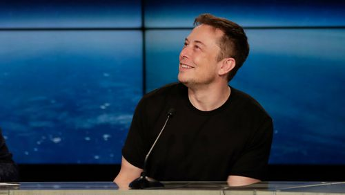 Billionaire Elon Musk is the lead designer of the SpaceX rocket. (AAP)