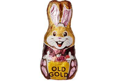 Cadbury Old Gold Bunny: 131 minutes brisk walking