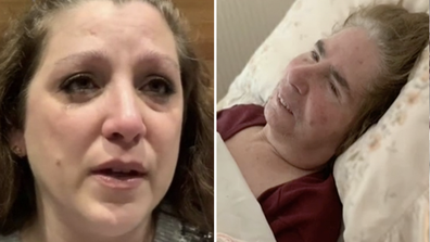 A daughter of an aged care resident in Melbourne was overcome with emotion live on air this morning as she claimed health workers neglected her mother as they grappled with a spiralling coronavirus outbreak.