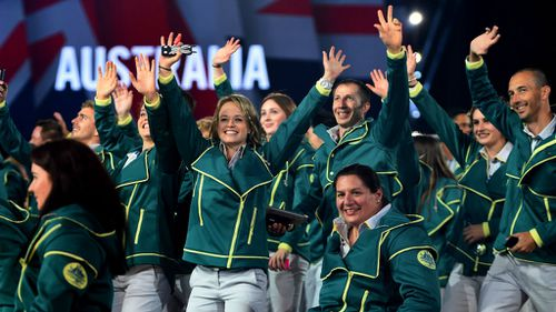PHOTOS: Commonwealth Games open in Glasgow