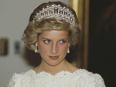 Princess Diana tiara photo.